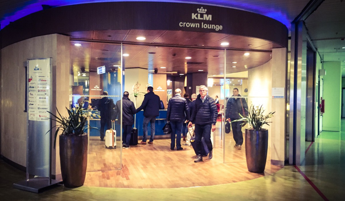 TEST: KLM Crown Lounge 52 Amsterdam